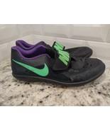 Nike Zoom Rival SD 2 Throwing Shot Put Men's Black shoes Sz 12 685134-035 - $35.53