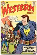 Western Comics #78 1959- Matt Savage Trail Boss- Wyoming Kid VG - $47.92