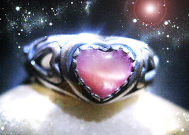Haunted Ring Give Me Back Your Heart Warm To Love Again Ooak Magick Power - $8,777.77