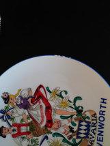 Vintage Reutter Porzellan Bavaria Souvenir Collector Plate Dancing Couple  Made  image 4