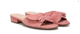 Naturalizer Womens Mila Open Toe Slide Sandals Peony Pink Size 7.5 W - $29.69