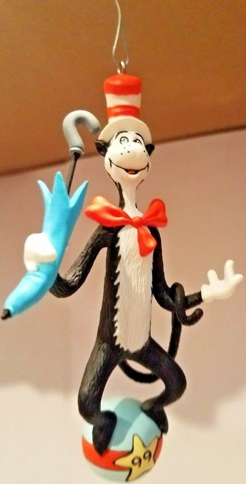 Hallmark Keepsake Ornaments The Cat in the Hat 1999 Collector's Series
