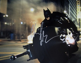 Christian Bale Autographed Hand Signed Batman 11x14 Photo The Dark Knight Rises - $149.99