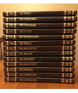 Lot Of 13 Vintage The Old West Time Life Book Series 1977 Hardcover Faux... - $28.66