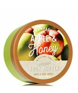 BATH & BODY WORKS Champagne Apple & Honey Whipped Body Butter With Pure ... - $19.98