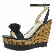 Jessica Simpson Womens Pressa Satin Ankle Strap Wedge Sandals - $48.50