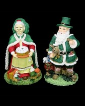 International Santa Claus Collection Irish Mr & Mrs Father Christmas Fig... - $19.95