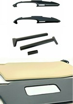 SUNVISOR + KNEE PADS + DASHBOARD TOP ( WITH AIR WENT ) FOR PORSCHE 911 1... - $832.59