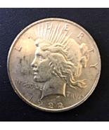 1922 P Peace Dollar, Xtra FIne, Rare, 90% Silver, Clean Coin. - $27.00