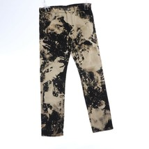 Levis 510 Black White Straight Pants 30 30 Splatter - $40.66