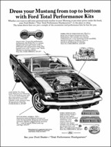 1965 Mustang ad Dress your Mustang poster 24x36 inch - $21.77