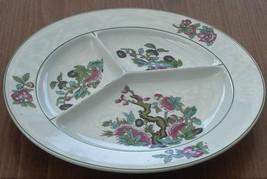 Union K Grill Plate - Green Trim - Musterchuts 4589 - VGC - PUNPUN105 - ... - $24.74