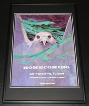 1970 Air Force vs Tulane Football Framed 10x14 Poster Official Repro  - $32.36