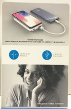 myCharge Qi Certified Wireless Charging Pad for iPhone®/Android 5000mAh White image 3