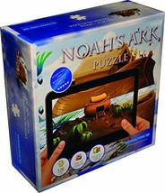 Noah's Ark Jigsaw Puzzle for Kids Ages 4-8 with Cool Twist - Includes Free iOS/A