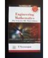 Engineering Mathematics (For Third Year) by T Veerarajan - $15.92