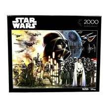 Star Wars 2000 Piece Jigsaw Puzzle 38x26 Rogue One Rebellions Are Built On Hope - $29.40