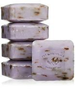 Luxurious Pre de Provence Artisanal French Lavender 5 Pc Soap Set - Grea... - $15.89