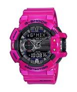 Casio G-Shock Black Dial Resin Quartz Men's Watch GBA400-4C - $200.00