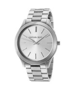 Michael Kors MK3178 Slim Runway Silver Wrist Watch for Women - £52.51 GBP