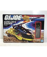 GI JOE Iron Grenadiers Darklon's Evader w/ Darklon Figure - Hasbro 1988 FS - $164.47