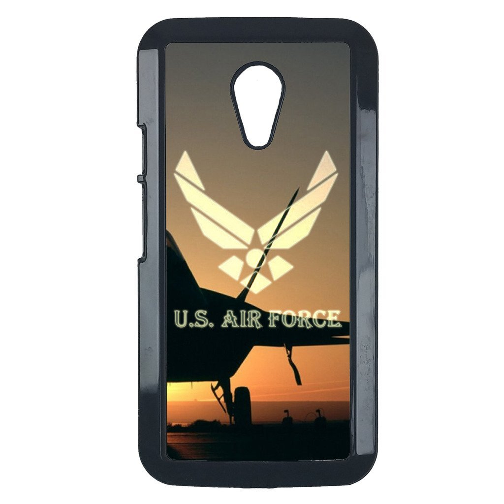 Air Force Motorola Moto E case Customized premium plastic phone case, design #7