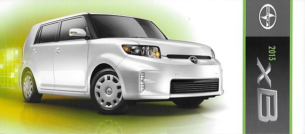 2013 Scion xB sales brochure catalog US 13 Toyota Rumion
