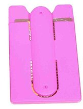 2-in-1 Pocket Card Holder Phone Stand Pink - $7.96