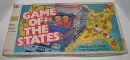 Vintage 1987 Game Of the States Game Milton Bradley Rare HTF - $46.75