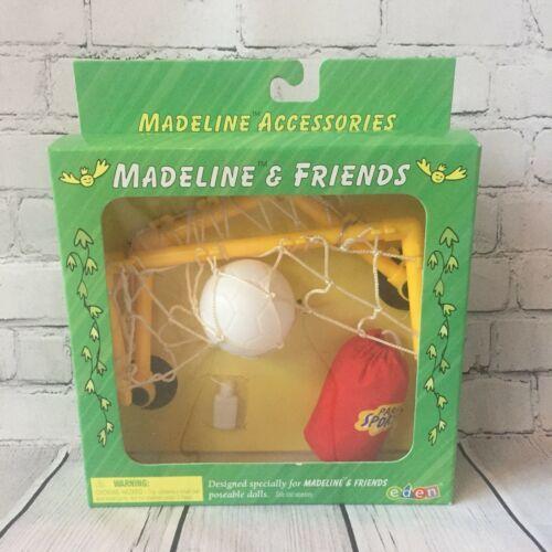 Madeline & Friends Accessories Soccer Sports Play Set Eden 1999 Goal Duffle Bag - $24.99