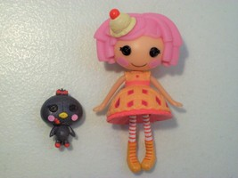 LALALOOPSY CHERRY CRISP CRUST MINI DOLL FIGURE WITH PET - $18.57