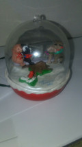 Hallmark 1992 Magic Keepsake Christmas Tree Ornament Forest Frolics seesaw - $7.90