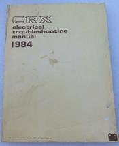 B- 1984 Honda Civic CRX Service Repair Manual Electrical Wiring Diagrams... - $8.92