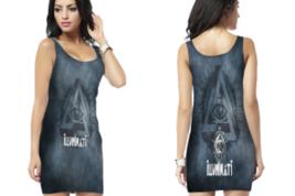 illuminati 2 Bodycon Dress - $25.99+