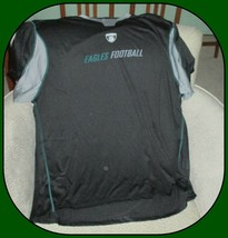 Philadelphia Eagles Reebok Men's Black Shortsleeve Shirt-2XL - $24.70