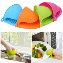 Anti-slip Silicone Heat Resistant Clips Pot Bowel Holder Baking Mitten G... - $4.99