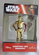 STAR WARS THE FORCE AWAKENS C-P30  HALLMARK CHRISTMAS TREE ORNAMENT - $8.91
