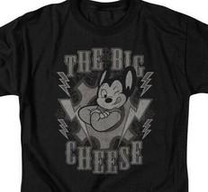 Mighty Mouse t-shirt The Big Cheese superhero retro cartoons graphic tee CBS924 image 2
