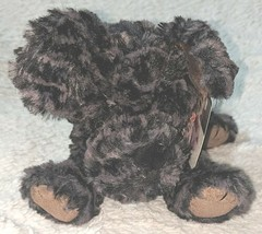 Mary Meyer 52635 Polyester Fibers Black 12 Inch Fab Fuzz Cole Puppy image 2