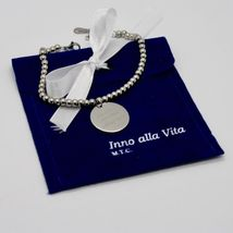 STEEL BRACELET 0,5 AGATE WITH ODE TO LIFE OF MOTHER TERESA OF CALCUTTA image 8
