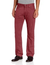 NEW LEVI'S STRAUSS 514 MEN'S ORIGINAL SLIM STRAIGHT LEG JEANS PANTS RED 514-0530
