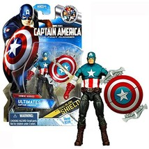 Marvel Year 2011 Captain America The First Avenger Movie Series 4 Inch T... - $31.99