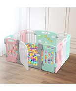 Baby Playpen Kids 12 Panels Safety Play Yard Activity Center Home Indoor... - $102.93