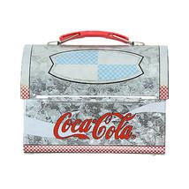 VTG Coca-Cola Mini Lunchbox 2001 COKE Collectible Metal Tin Box - $24.74