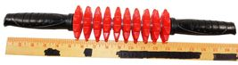 RED SPIKE ROLLER BAR - SPORTS DEEP TISSUE MASSAGER FOR MUSCLES USED image 4