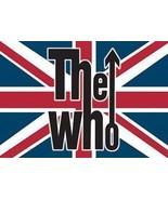 The Who Poster Flag Union Jack Flag Logo - $19.99