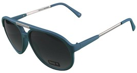 NEW Quay Eyeware Australia 1489 Matte Blue 100% UV Sunglasses Sunnies Shades image 2