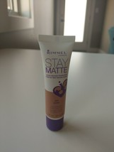 Rimmel London Stay Matte Liquid Mousse Foundation, 300 Sand. New - $8.77