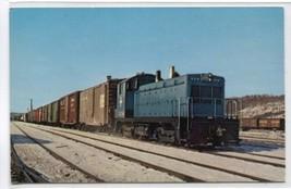 Boston & Maine Railroad Switcher 1204 Mechanicsville New York postcard - $5.89
