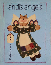 Andi's Angels By Andrea Lyness 1995 Tole Painting Book Cats Kitties Teacher EUC. - $7.98